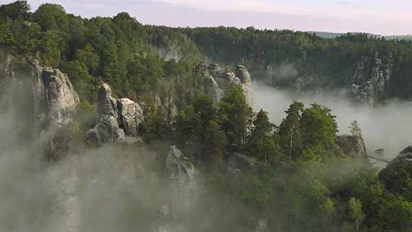 Luftaufnahmen: Sächsische Schweiz