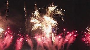 Feuerwerk, Raketen, Freude, Party